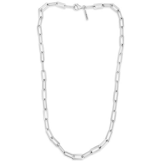 Hank Necklace in Silver by Sierra Winter Jewelry