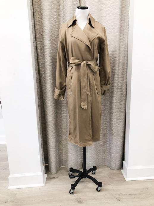 Julia Trench Coat - Final Sale