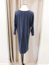 Sea Blue Viscose Dress