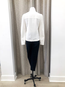 Maya Blouse in Ivory