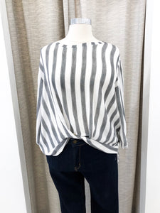 Chrissy Striped Blouse