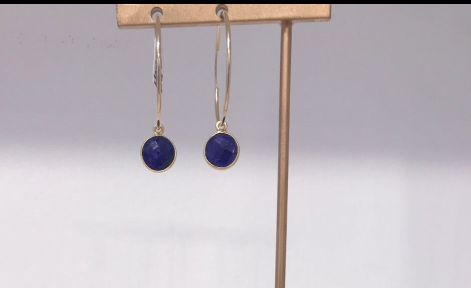 Harrow Hoops in Lapis