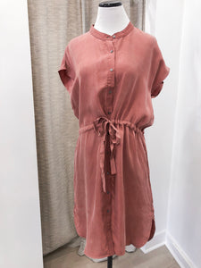Colony Dress in Rose