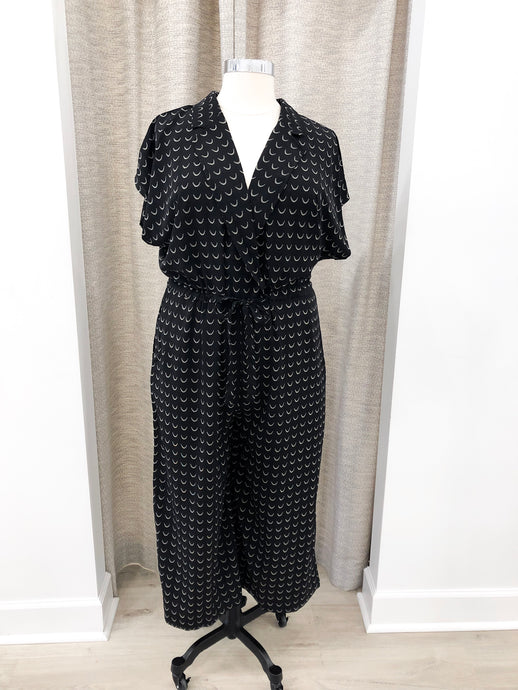 Naomi Jumpsuit in Black Print