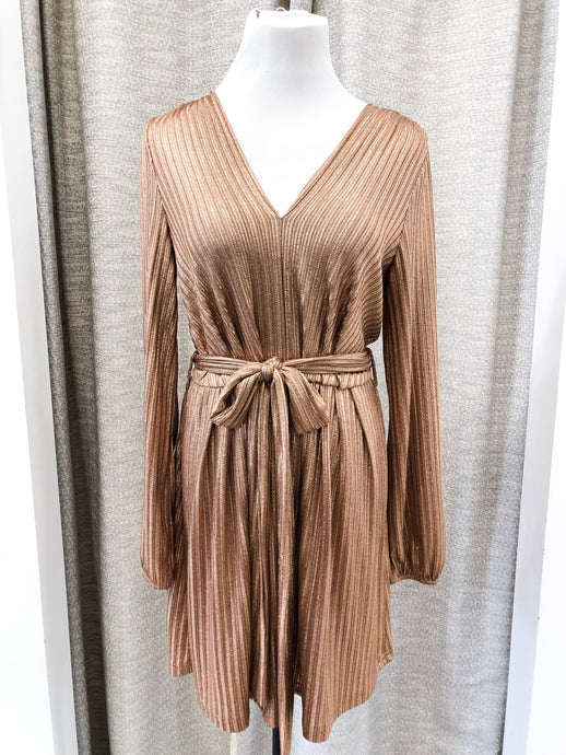 Moonshine Dress in Copper