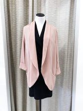 Dolly Blazer in Blush