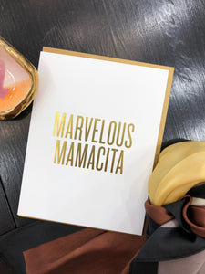 Marvelous Mamacita Card