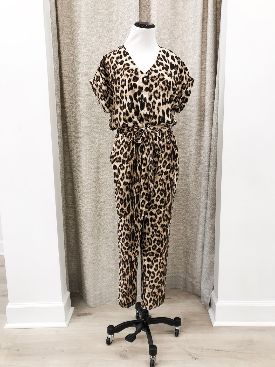 Kaitlyn Jumpsuit in Cheetah