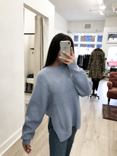 Clove Sweater in Powder Blue - FINAL SALE