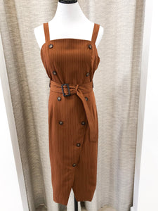 Tennessee Dress in Cognac