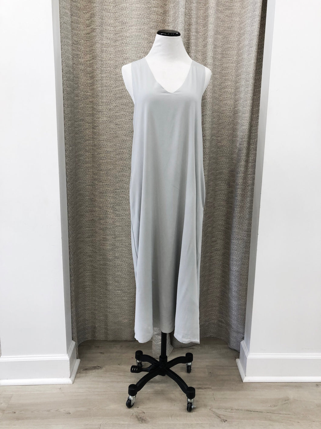 Kayla Dress in Grey - Final Sale