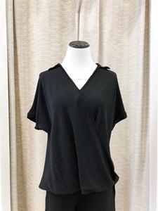 Campfire Blouse in Black