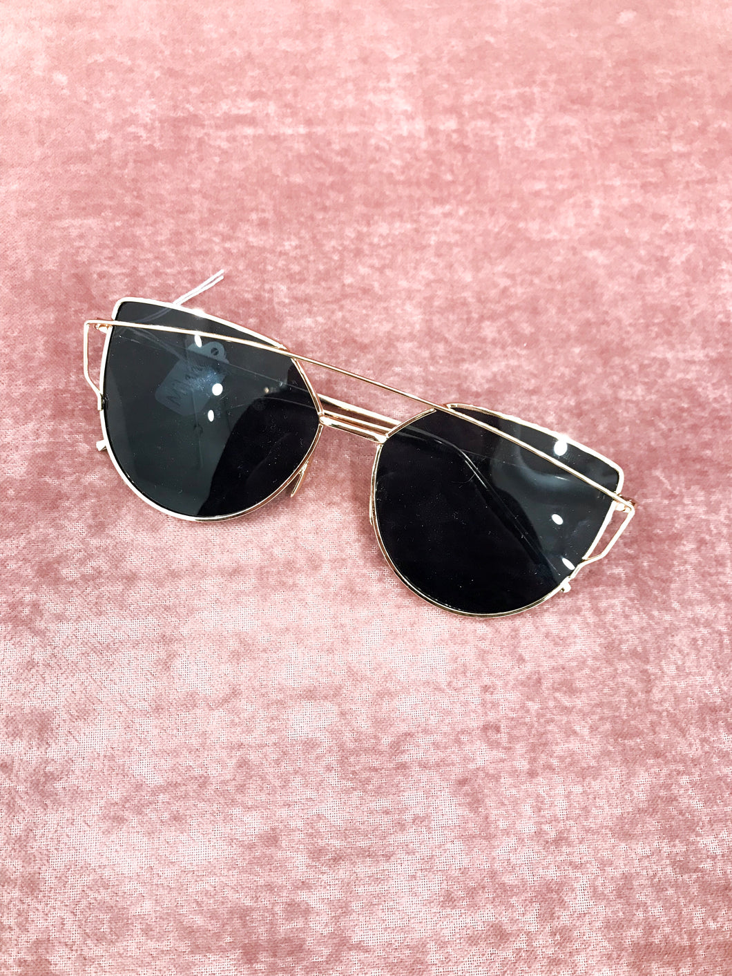Milano Sunglasses in Gold