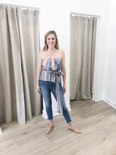 Santorini Tube Top - final sale