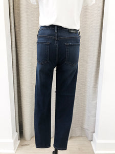 Diana Cropped Denim in Medium Wash