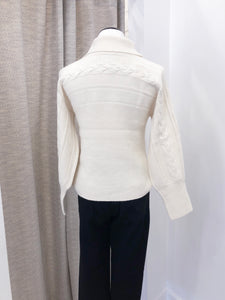 Slopes Sweater in Ivory