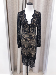 Kylee Dress in Black Lace
