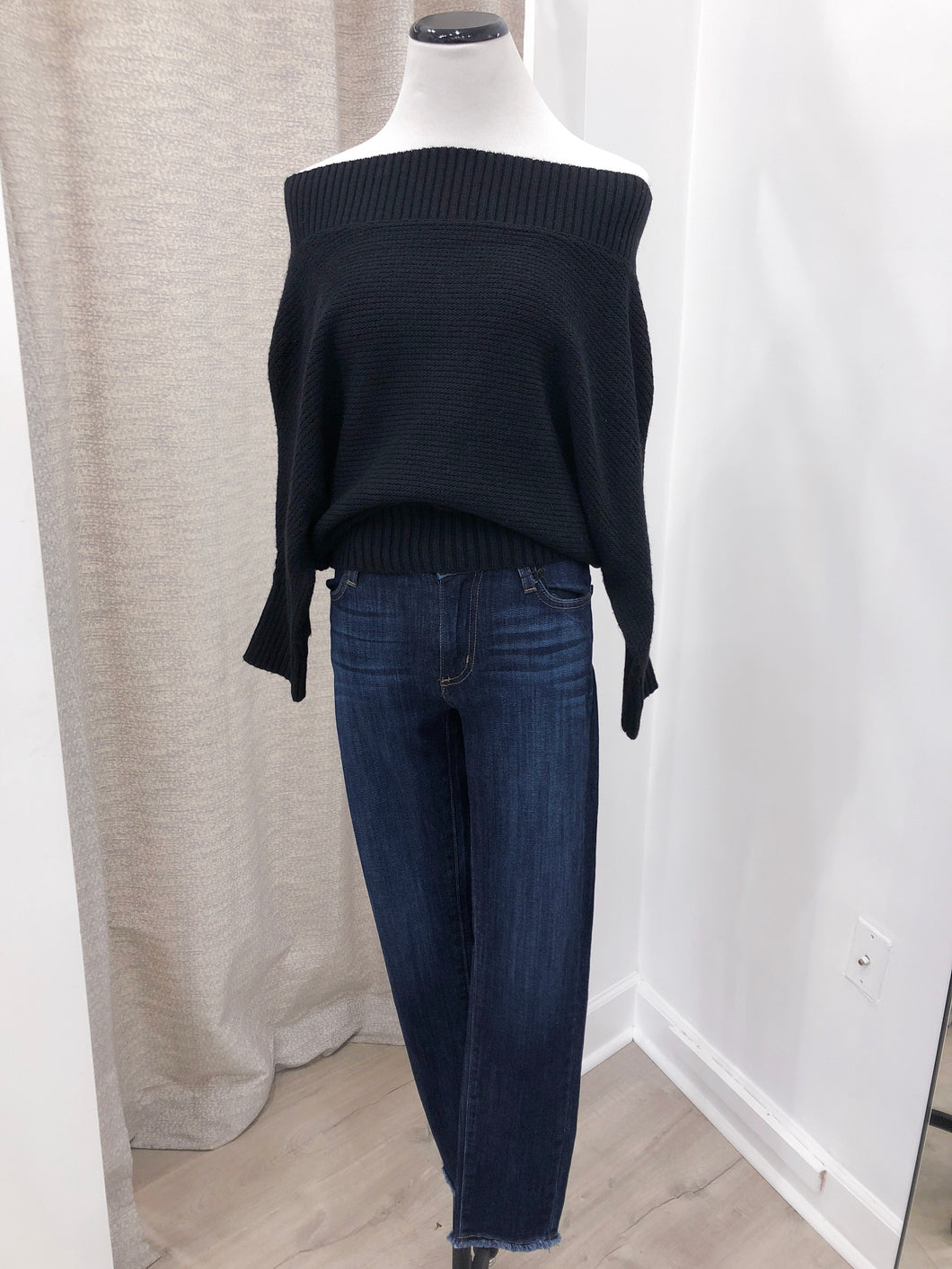 Samantha Sweater in Black