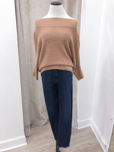 Samantha Sweater in Camel