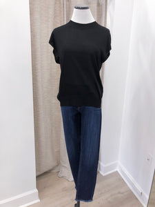 Verbena Sheer Sweater in Black - Final Sale