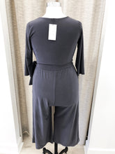 Napa Jumpsuit in Charcoal