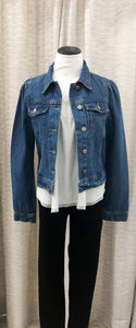 Jennifer Puff Sleeve Denim Jacket
