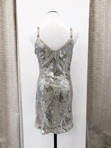 Prestige Diamond Dress in Sequins