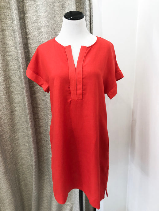 Fenna Dress in Tomato