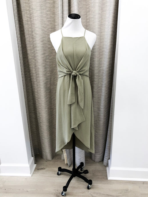 Amika Dress in Sage