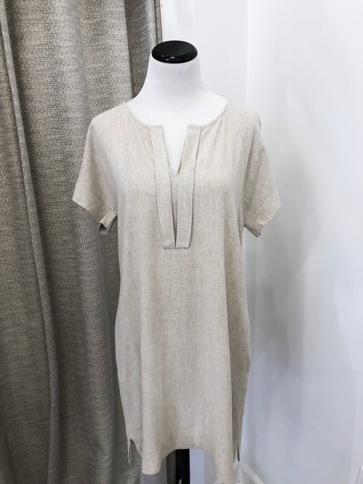 Fenna Dress in Oat