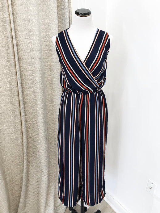 Maud Multi-Stripe Jumpsuit