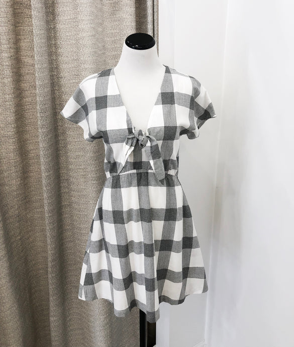 Leisl Checkered Dress