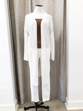 Anthony Cardigan in Ivory