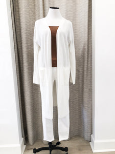 Anthony Cardigan in Ivory - Final Sale