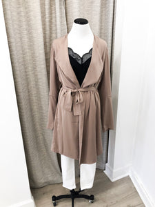 Dess Jacket in Mocha - Final Sale