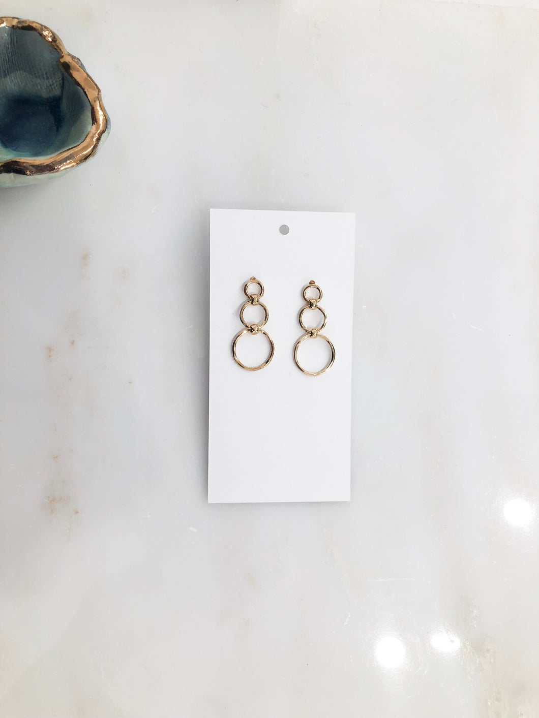 Triple Rings Earrings