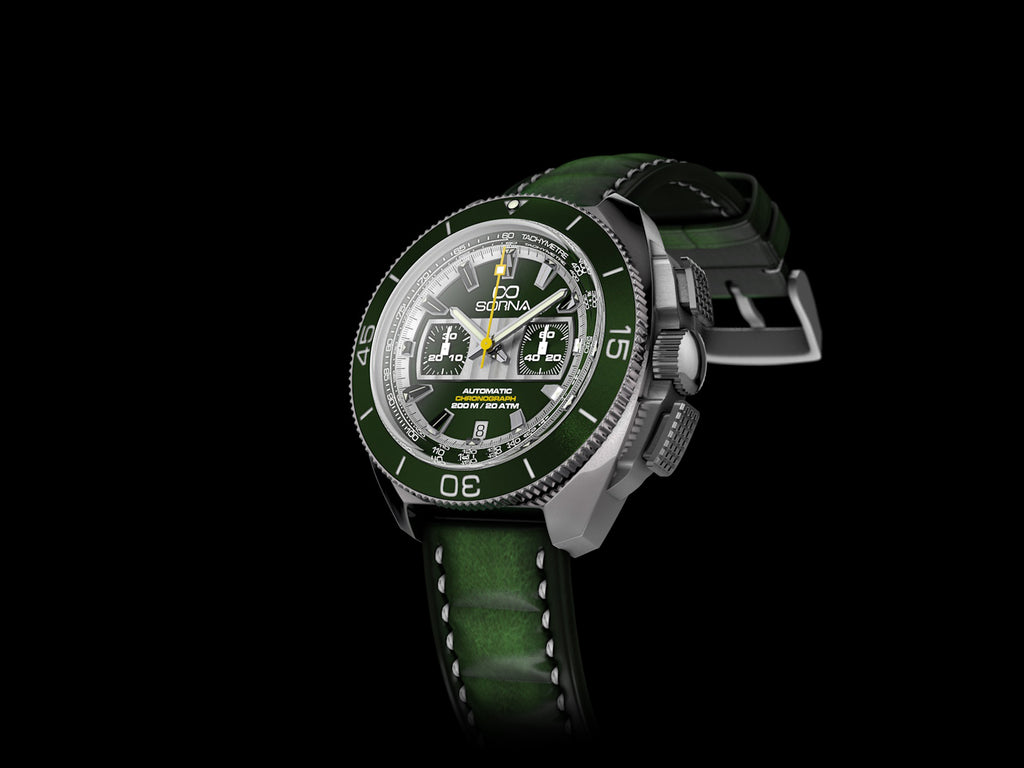 INFINITE 8 CHRONOGRAPH GREEN