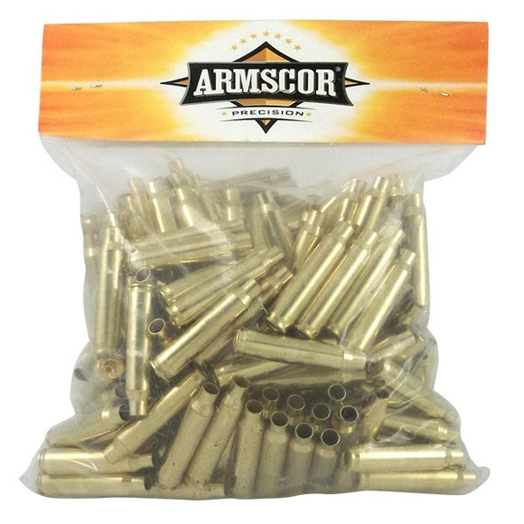 Armscor New 223 Remington Brass Unprimed Bag of 200
