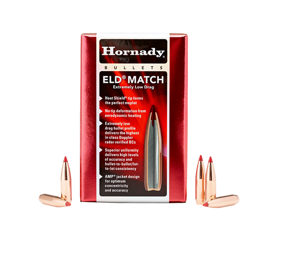 6.5mm Hornady 147 Grain ELD-M Bullets