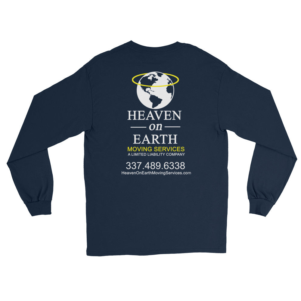 Heaven On Earth Classic Work Unisex Long Sleeve T-Shirt