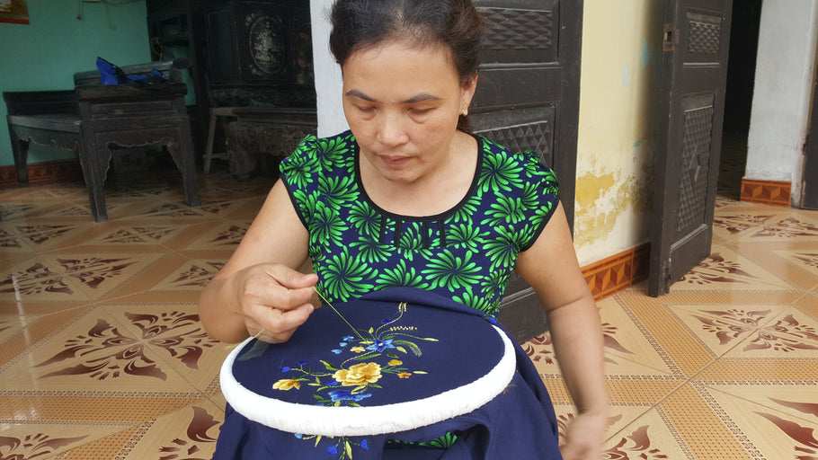 Featured Artisan: Hoa Pham and Her Embroidery