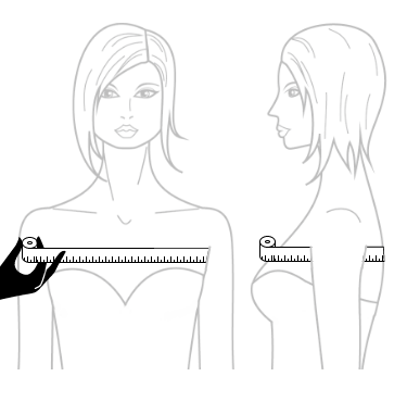 under arm measurement