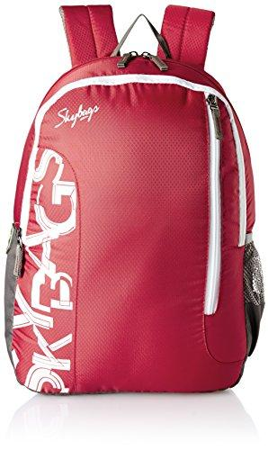 80fac2082396 Skybags Red Casual Backpack — Hylacs