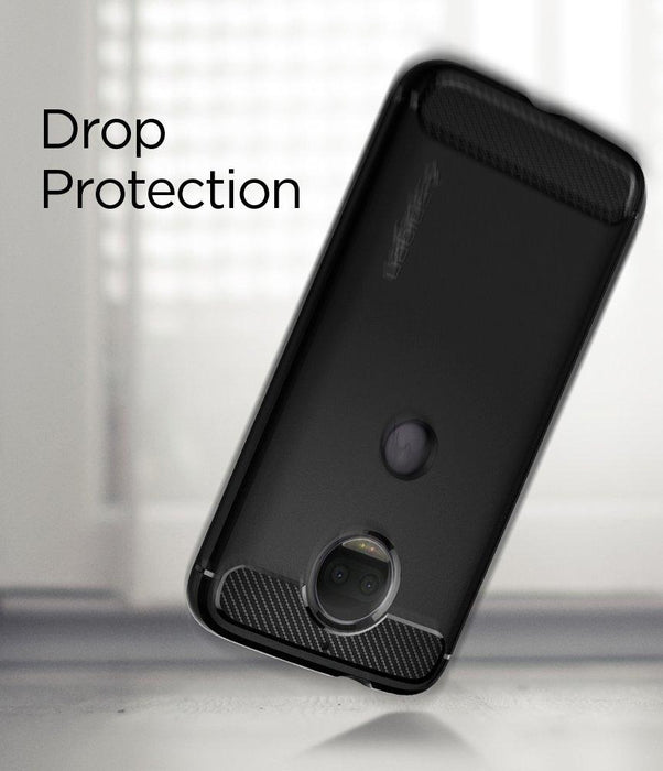 competitive price 708db 4a791 Spigen Rugged Armor Case for Motorola Moto G5S Plus - Black