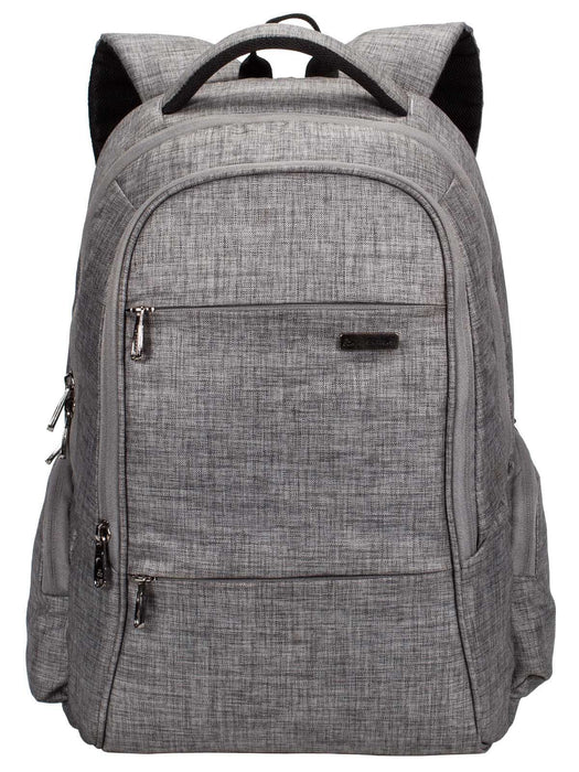 1203654120df Cosmus Darwin Dx Laptop Backpack - 29 litres Grey Durable Linen Polyester  Fabric Office Laptop Bag