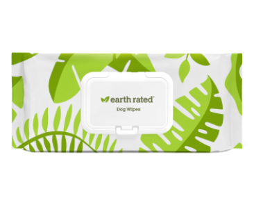Earth Rated Dog Wipes 100ct