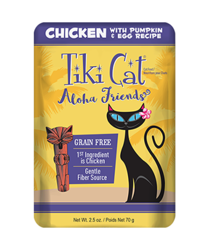 Tiki Cat Aloha Chicken, Pumpkin & Egg 2.5oz