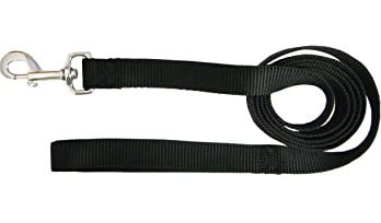 Hamilton Black Nylon Leash 6' (Assorted Sizes)