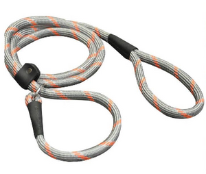 Shedrow K9 Camino Slip Leash Grey