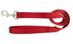 Hamilton Red Nylon Leash 6' (Assorted Sizes)